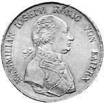 Taler Konventionstaler Maximilian Joseph 1806  ss-vz