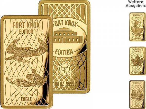 Goldbarren-Kollektion: Fort Knox Edition