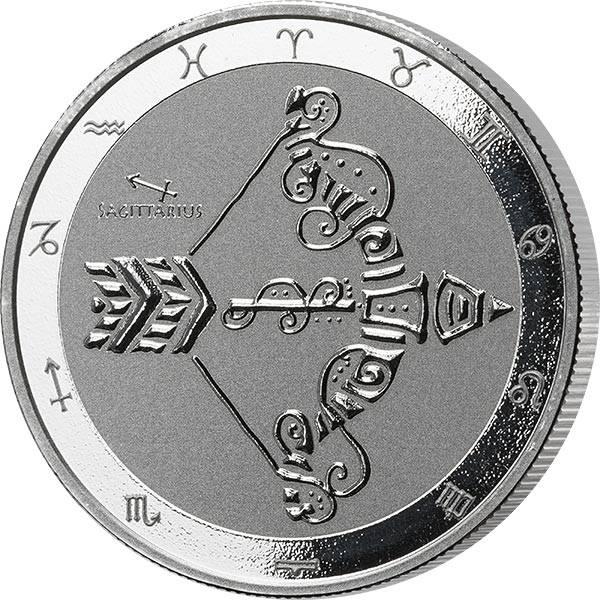 1 Unze Silber Tokelau Schütze 2021