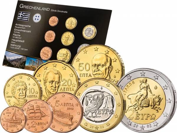 Premium-Euro-Kursmünzensatz Griechenland