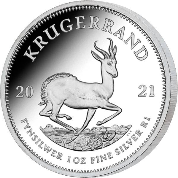 1 Unze Silber Südafrika Krügerrand 2021