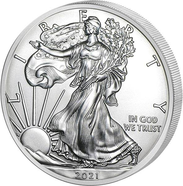 1 Unze Silber USA Eagle Liberty 2021