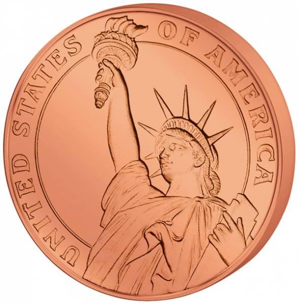 1 Unze Gedenkprägung Statue of Liberty