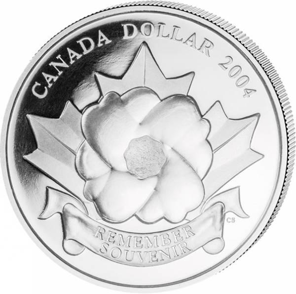 1 Dollar Kanada 60 Jahre Landung Normandie 2004