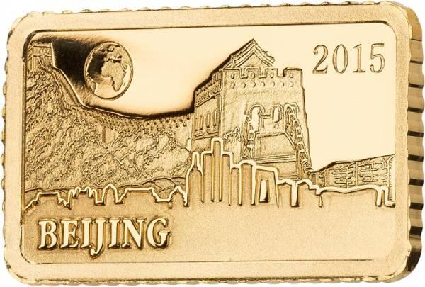 10 Dollars Salomonen Peking Chinesische Mauer 2015