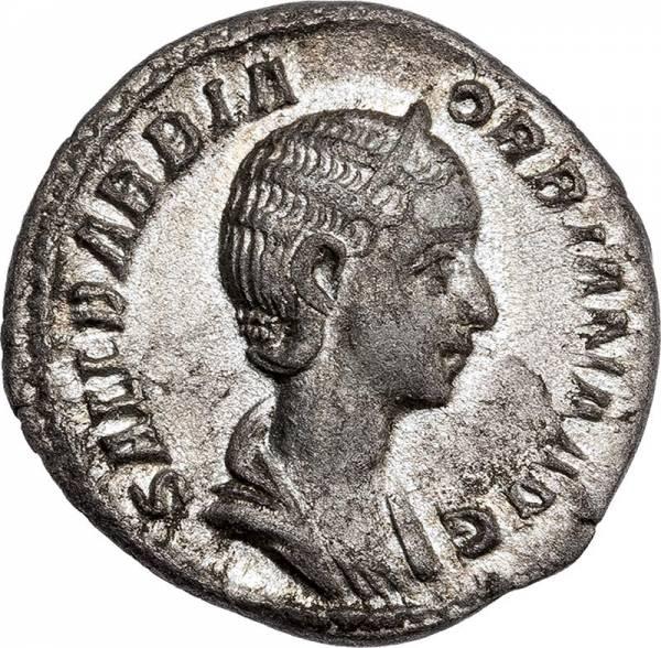 Denar Römisches Kaiserreich Kaiserin Orbiana 225-227