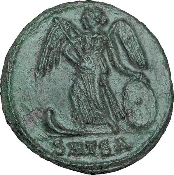 Mittelfollis Rom Kaiser Constantinus I. der Große Constantinopolis