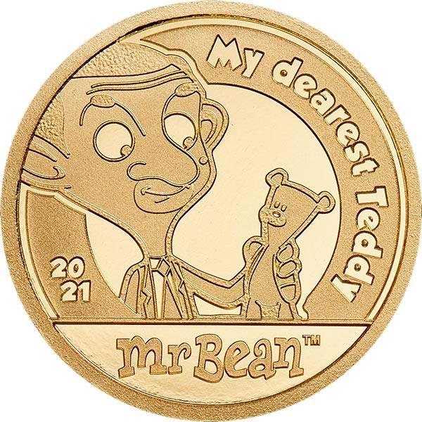 5 Dollar Cook-Inseln Mr. Bean - Mein liebster Teddy 2021
