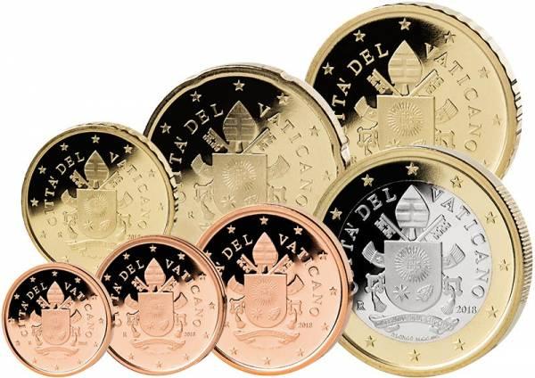 Euro-Kursmünzen Vatikan 2017
