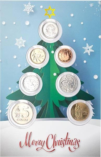 Numismatische Weihnachtskarte 2020