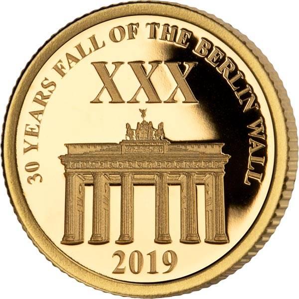 1 Dollar Salomonen 30 Jahre Mauerfall 2019