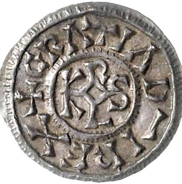 Karolinger Denar Karl der Kahle 840-877, ss-vz