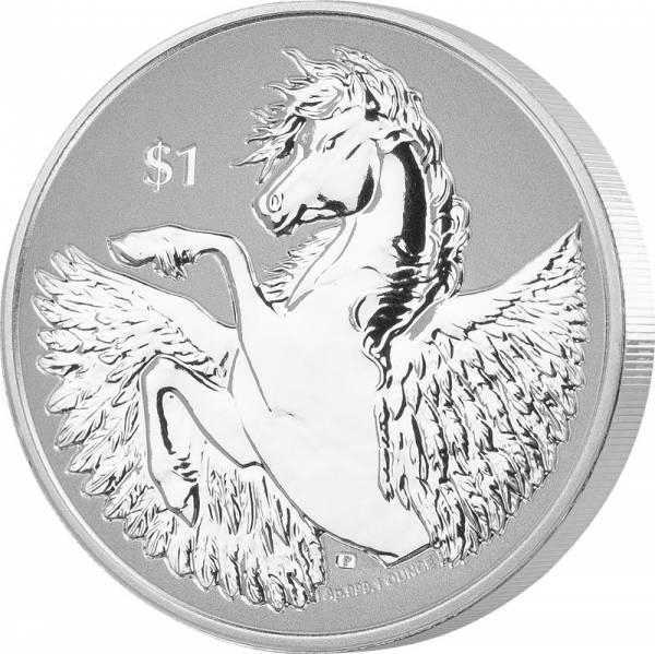 1 Unze Silber Britische Jungferninseln Pegasus 2020