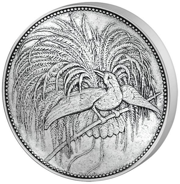 1/2 Mark Deutsch Neuguinea Vogel 1894 A Sehr schön