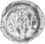 Brakteat Hildesheim Bischof Konrad II. 1221-1246 Vorzüglich