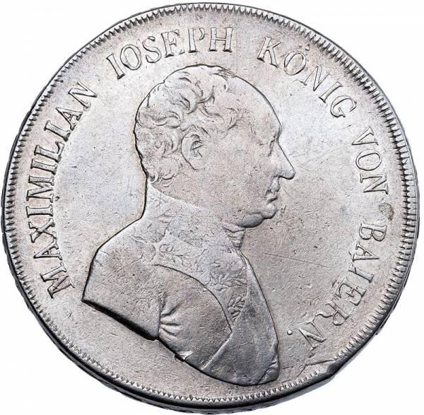 Konventionstaler Bayern König Maximilian Joseph 1807-1822