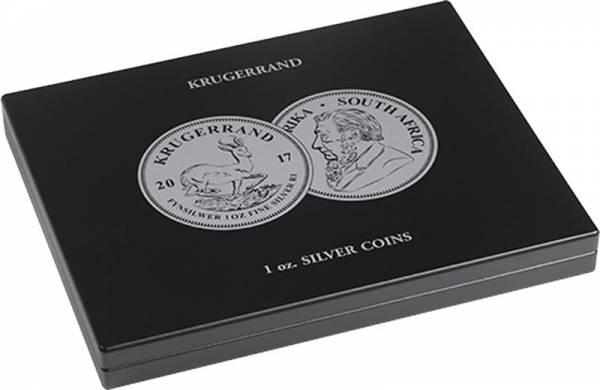 Münzkassette für 20 Silbermünzen Südafrika Krügerrand