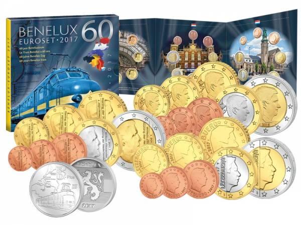 Euro-Kursmünzensätze BeNeLux 2017