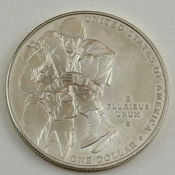 1 Dollar USA US-Army Tapferkeitsmedaille