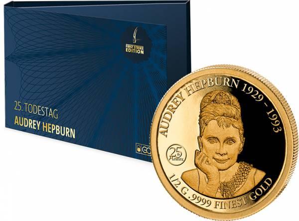 10 Dollars Salomonen 25. Todestag Audrey Hepburn 2018