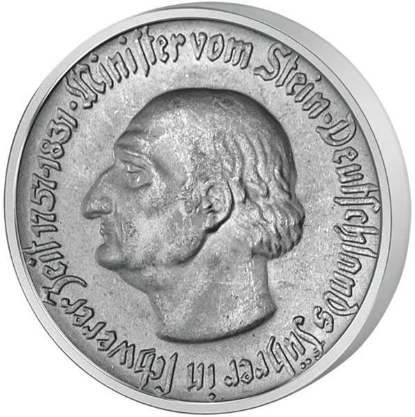 50 Pfennig vom Stein - Westfalenross 1921