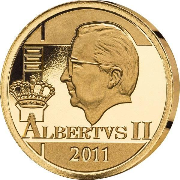 12,5 Euro Belgien Albert II. 2011