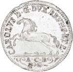1⁄6 Taler  diverse Kurfürsten 1752-1804  Sehr schön