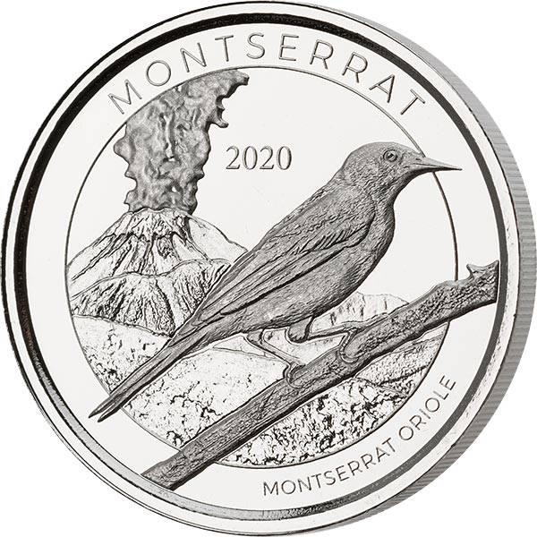 1 Unze Silber Montserrat Oriole 2020
