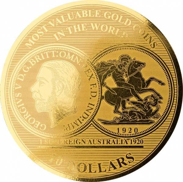 10 Dollars Salomonen Sovereign 2018